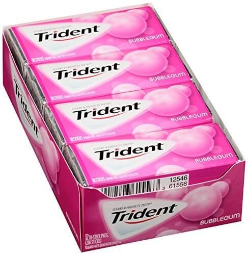 Kẹo cao su Trident Bubblegum