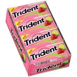 Kẹo cao su Trident Island Berry Lime ( Vị dâu chanh )