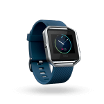 Đồng hồ thể thao Fitbit Blaze ( Blue / Silver )