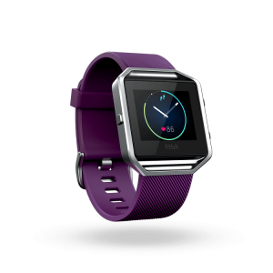 Đồng hồ thể thao Fitbit Blaze ( Plum / Silver )