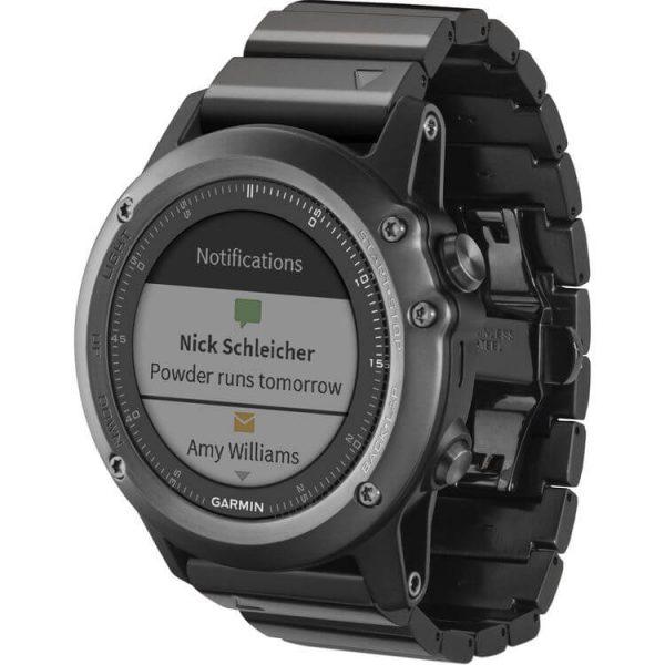 Đồng hồ thể thao GPS Garmin Fenix 3 Saphire Stainless Steel