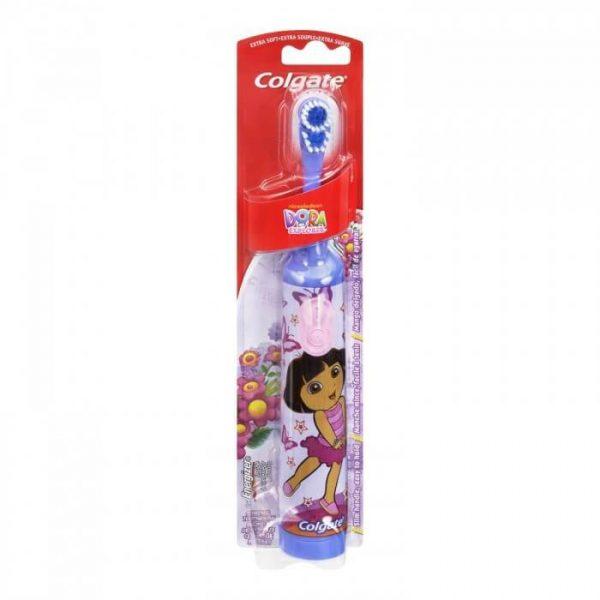 Bàn chải đánh răng điện Colgate Dora cho bé 3 tuổi
