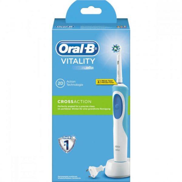 Bàn chải đánh răng điện Oral-B Vitality CrossAction