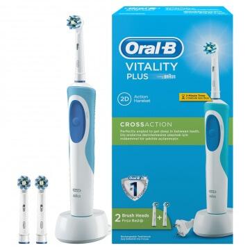 Bàn chải đánh răng điện Oral-B Vitality CrossAction 2 đầu