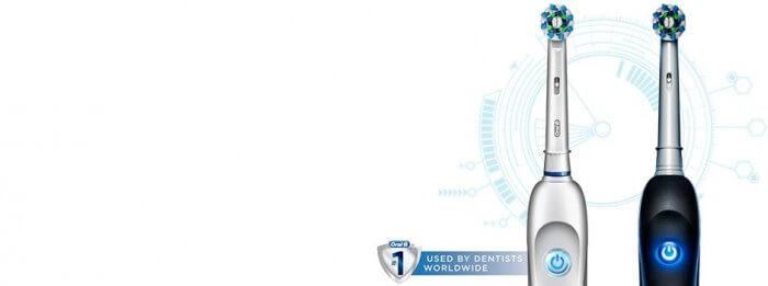 Hướng dẫn sử dụng bàn chải đánh răng điện Oral-B