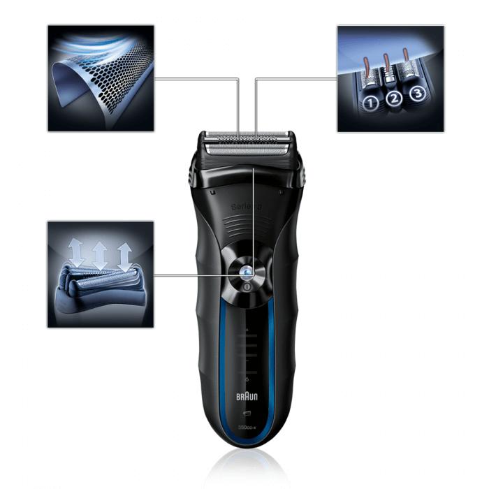Kết quả hình ảnh cho máy cạo râu braun 350cc-5