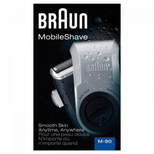 Máy cạo râu du lịch Braun M90 4