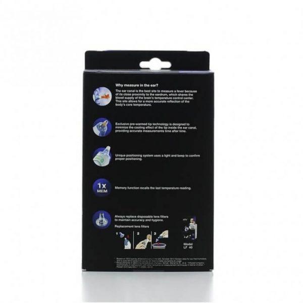 Nhiệt kế điện tử Braun ThermoScan 5 IRT6500 ( đo tai ) - Mỹ 3