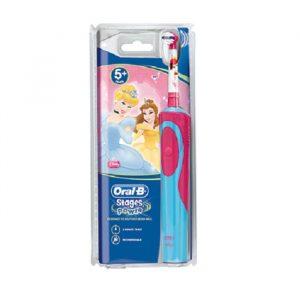 Bàn chải đánh răng điện Oral-B Vitality Princess cho bé 5 tuổi
