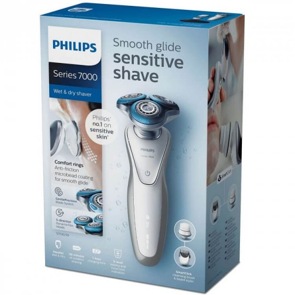 Máy cạo râu Philips Norelco Series 7000 S7530/50 Wet & Dry