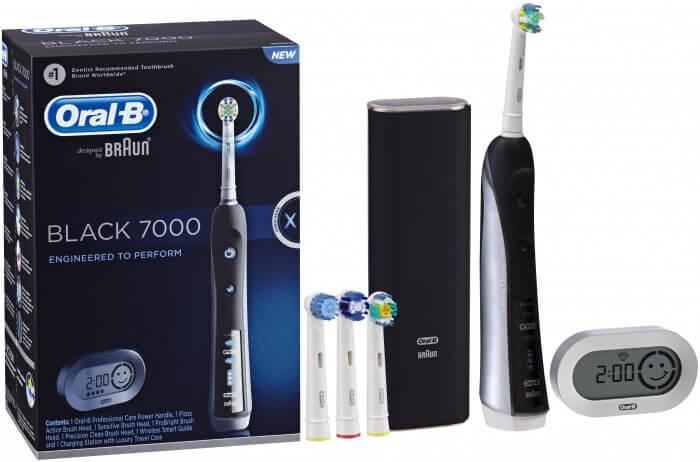 Sở hữu một hàm răng trắng sáng với sản phẩm bàn chải đánh răng điện