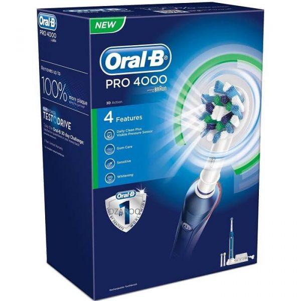 Bàn chải đánh răng điện Oral-B Pro 4000 2
