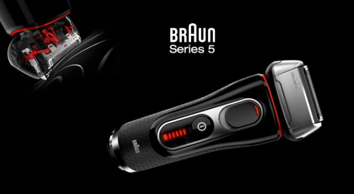 Giới thiệu về dòng máy cạo râu Braun Series 5