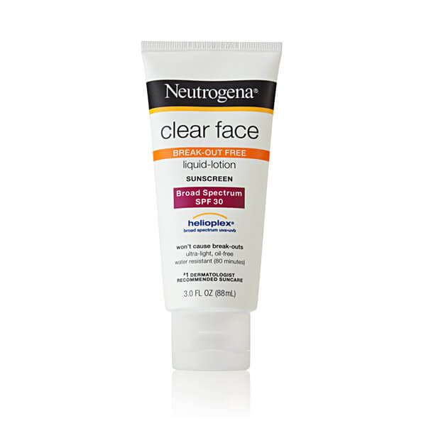 Kem chống nắng Neutrogena Clear Face SPF 30