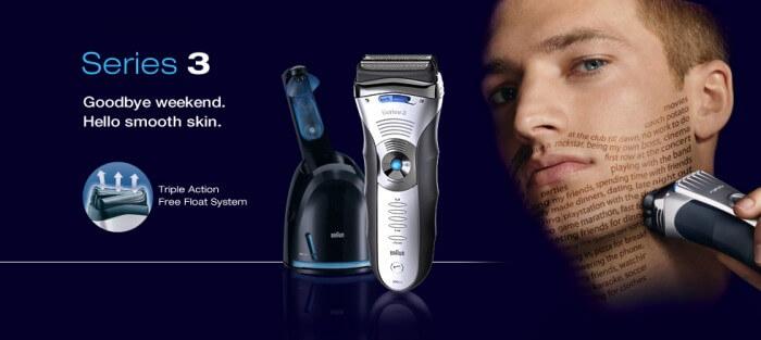 Một vài nét về máy cạo râu Braun Series 3