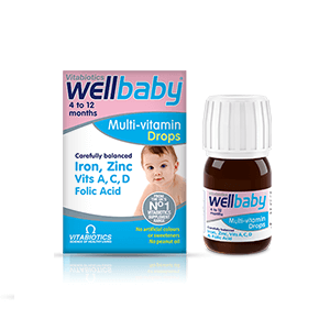 Thuốc bổ sung Multi-Vitamin Vitabiotics Wellbaby ( dạng giọt )