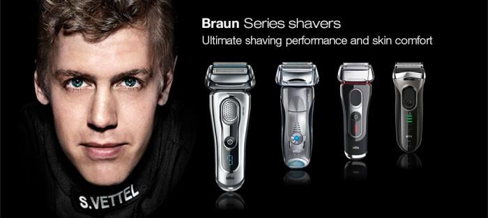 Vì sao bạn nên chọn máy cạo râu Braun ?