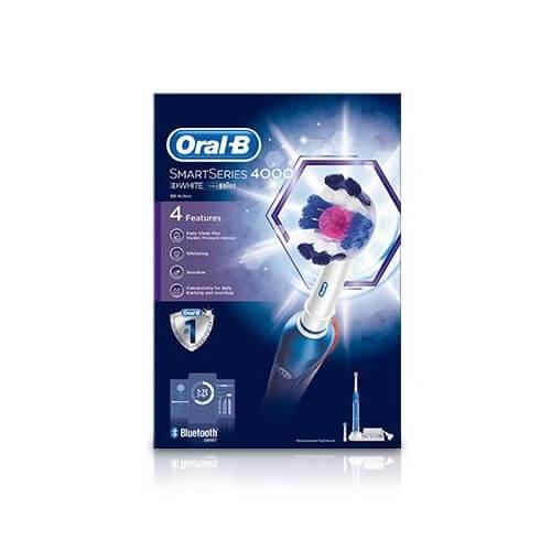 Bàn chải đánh răng điện Oral-B SmartSeries 4000 3DWhite
