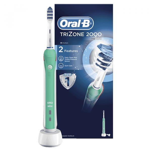 Bàn chải đánh răng điện Oral-B TriZone 2000