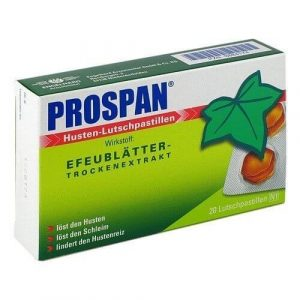 Thuốc ngậm ho Prospan 20 viên
