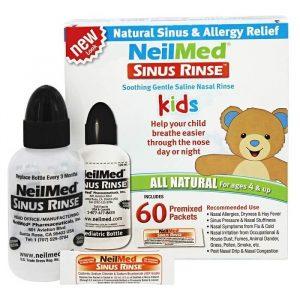 Bình rửa mũi NeilMed Sinus Rinse cho bé ( 60 gói muối )