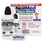 Bình rửa mũi NeilMed Sinus Rinse người lớn ( 50 gói muối )
