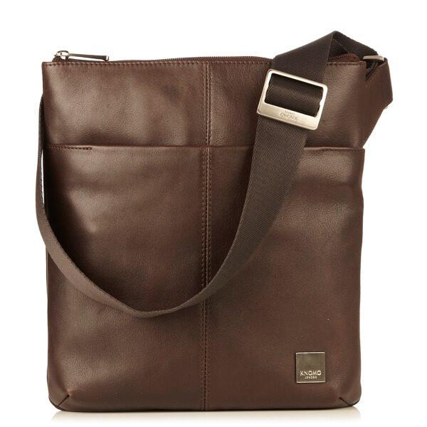 Túi xách đeo chéo Knomo Kyoto ( Màu Nâu )