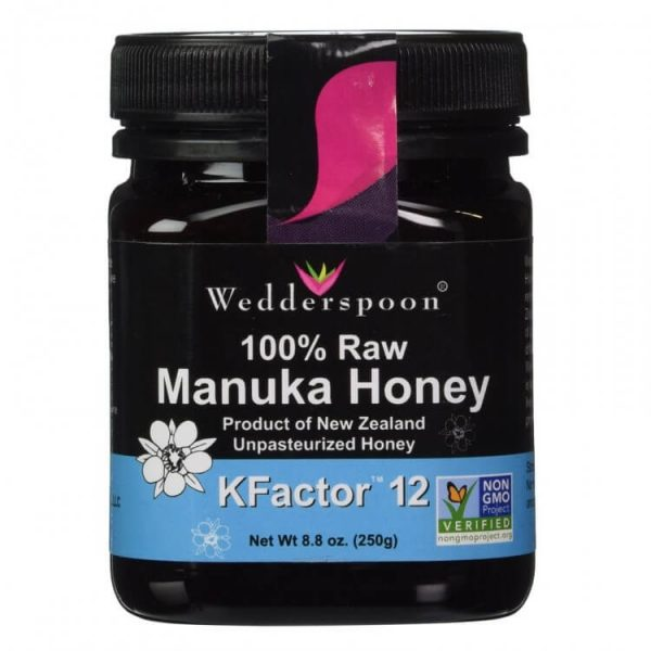 Mật ong Manuka Wedderspoon KFactor 12 250g