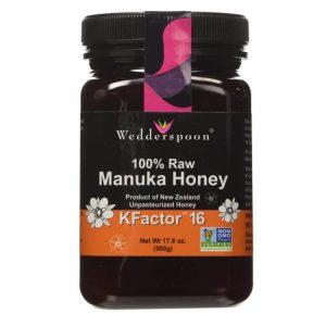 Mật ong Manuka Wedderspoon KFactor 16 500g