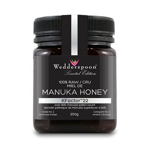Mật ong Manuka Wedderspoon KFactor 22 250g