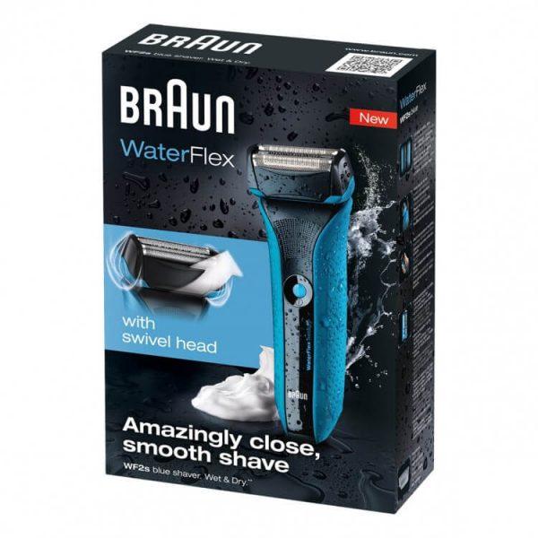 may cao rau braun waterflex wf2s 6 600x600 - Máy cạo râu Braun WaterFlex WF2s