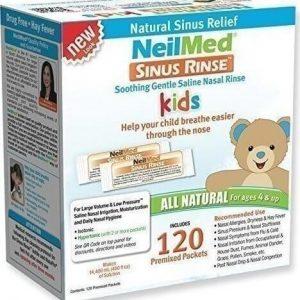 Muối rửa mũi NeilMed Sinus Rinse cho bé 120 gói