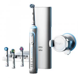 Bàn chải đánh răng điện Oral-B Genius 9000 White
