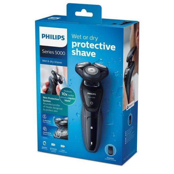 may cao rau philips series 5000 s5270 06 wet dry 2 600x600 - Máy cạo râu Philips Series 5000 S5270/06 Wet & Dry