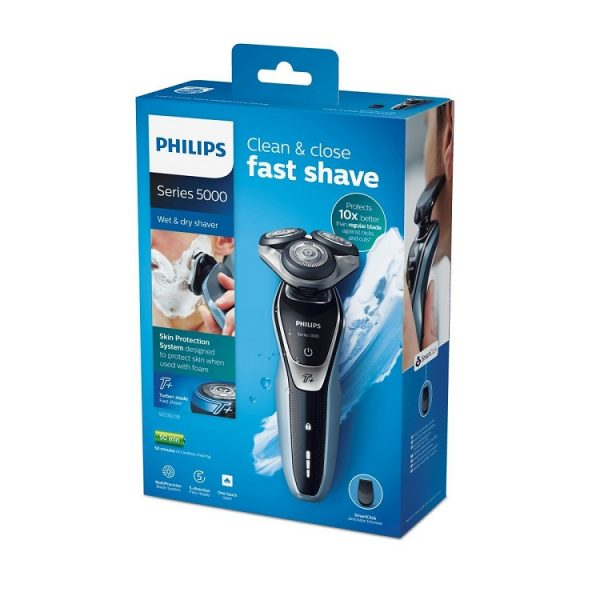 Máy cạo râu Philips Series 5000 S5530/06 Turbo Mode Wet & Dry