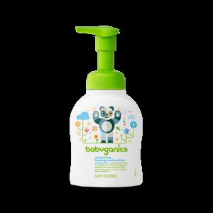 Nước rửa tay khô Babyganics không mùi 250ml