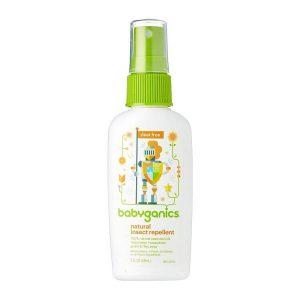 Xịt chống muỗi & côn trùng Babyganics 59ml