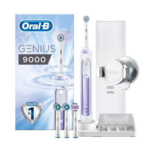 Bàn chải đánh răng điện Oral-B Genius 9000 Orchid Purple