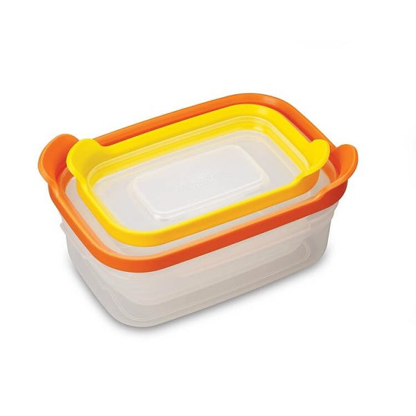 Bộ 2 hộp đựng thực phẩm an toàn Joseph Joseph