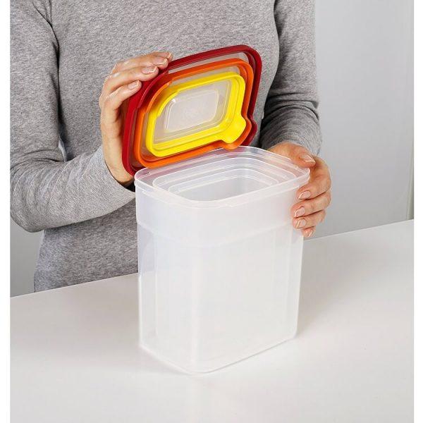 Bộ 3 hộp đựng thực phẩm an toàn Joseph Joseph