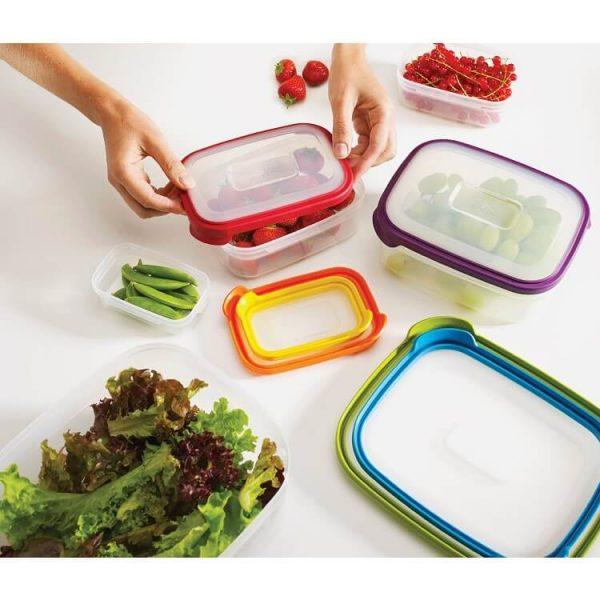 Bộ 6 hộp đựng thực phẩm an toàn Joseph Joseph