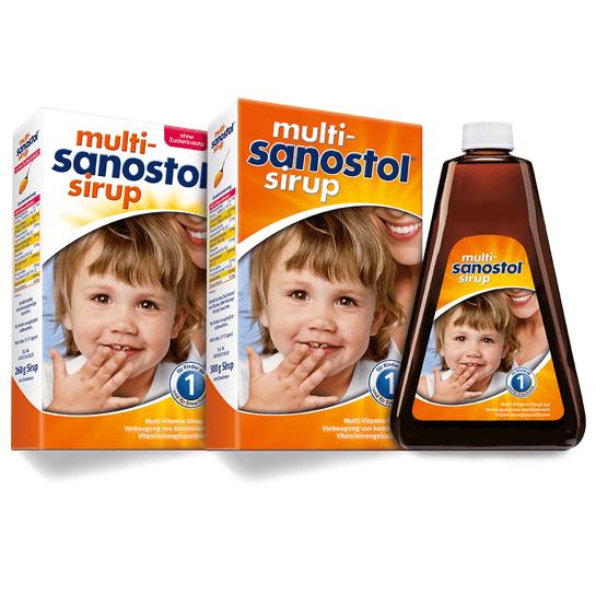 Siro vitamin tổng hợp Sanostol số 1