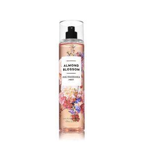 Xịt thơm toàn thân Bath & Body Works Almond & Vanilla 236ml