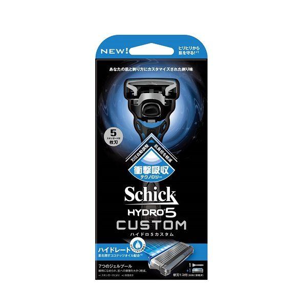 Dao cạo râu Schick Hydro 5 Custom 5 lưỡi