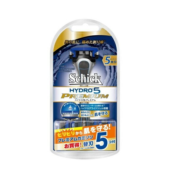 Dao cạo râu Schick Hydro 5 Premium 5 lưỡi ( Pack 5 lưỡi )
