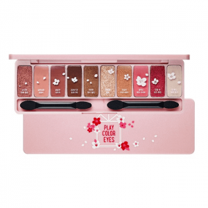 bang phan mat 10 mau etude house play color eyes cherry blossom 10g 300x300 - Bảng phấn mắt 10 màu Etude House Play Color Eyes Cherry Blossom 10g