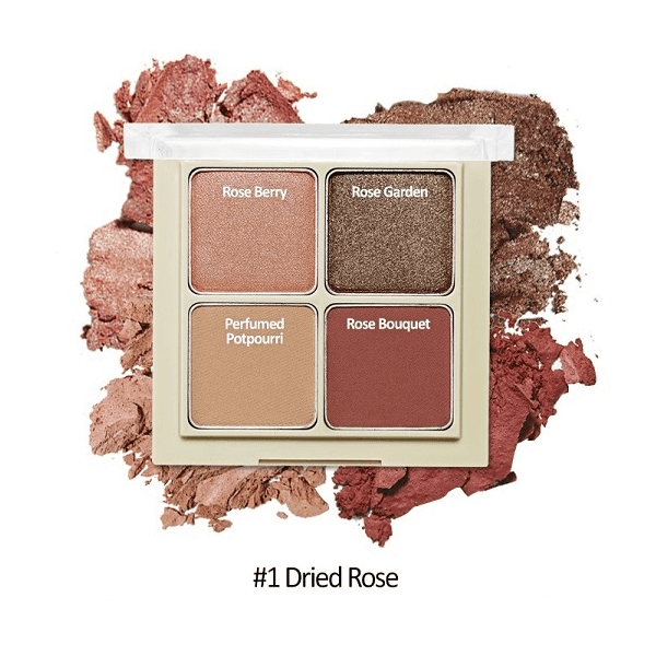 bang phan mat 4 o etude house blend for eyes 8g 1 dried rose 600x600 - Bảng phấn mắt 4 ô Etude House Blend For Eyes 8g