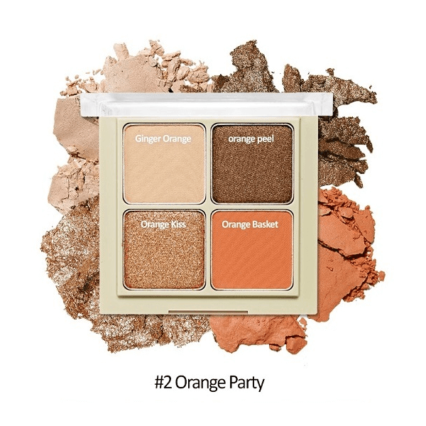 bang phan mat 4 o etude house blend for eyes 8g 2 orange party 600x600 - Bảng phấn mắt 4 ô Etude House Blend For Eyes 8g