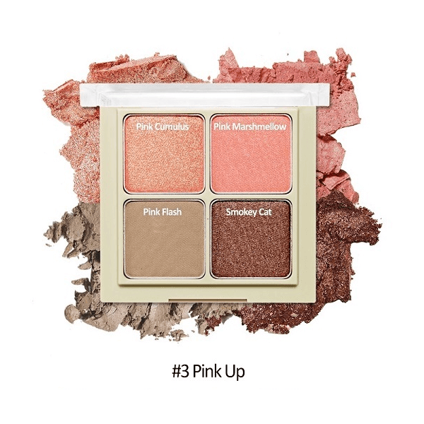 bang phan mat 4 o etude house blend for eyes 8g 3 pink up 600x600 - Bảng phấn mắt 4 ô Etude House Blend For Eyes 8g