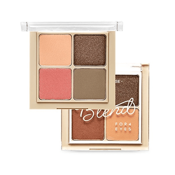 bang phan mat 4 o etude house blend for eyes 8g 600x600 - Bảng phấn mắt 4 ô Etude House Blend For Eyes 8g